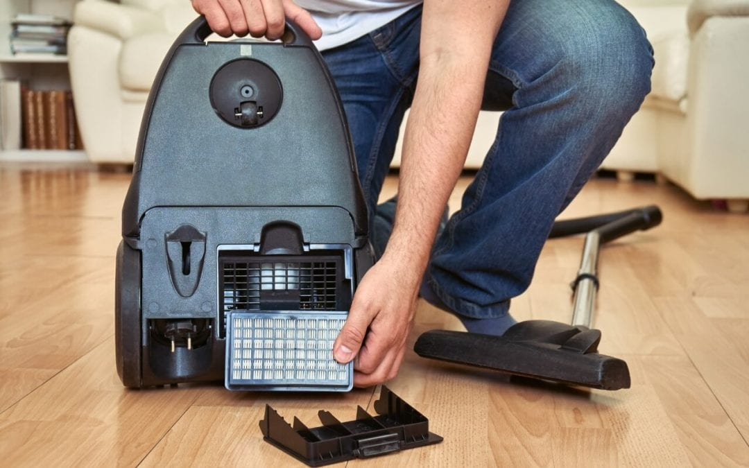 improve indoor air quality by vacuuming frequently